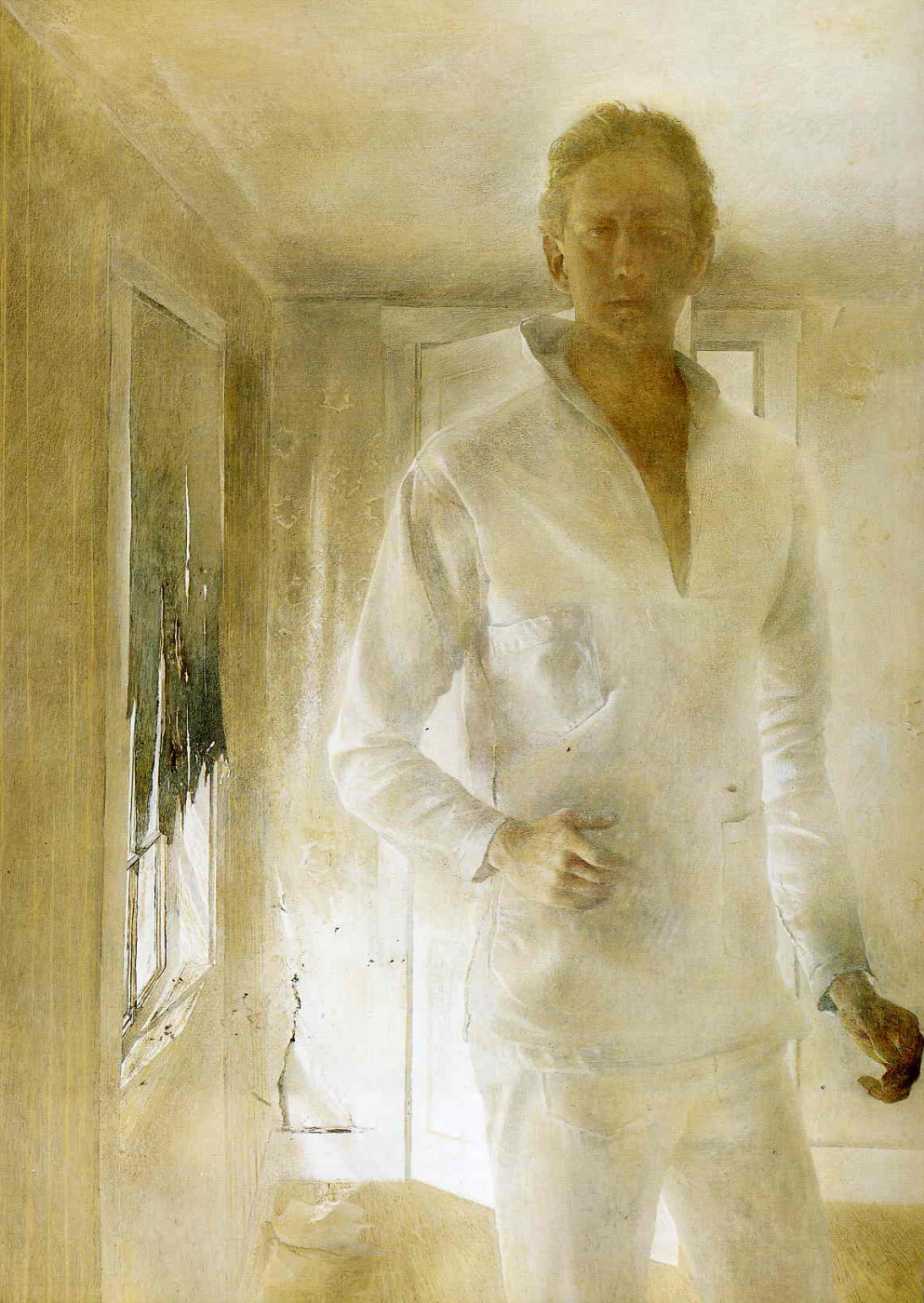Andrew Wyeth. Resurrected (Self)