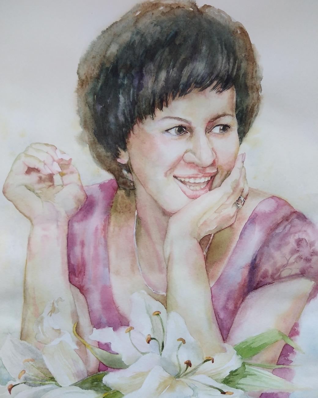 Polina Komkova. Mama