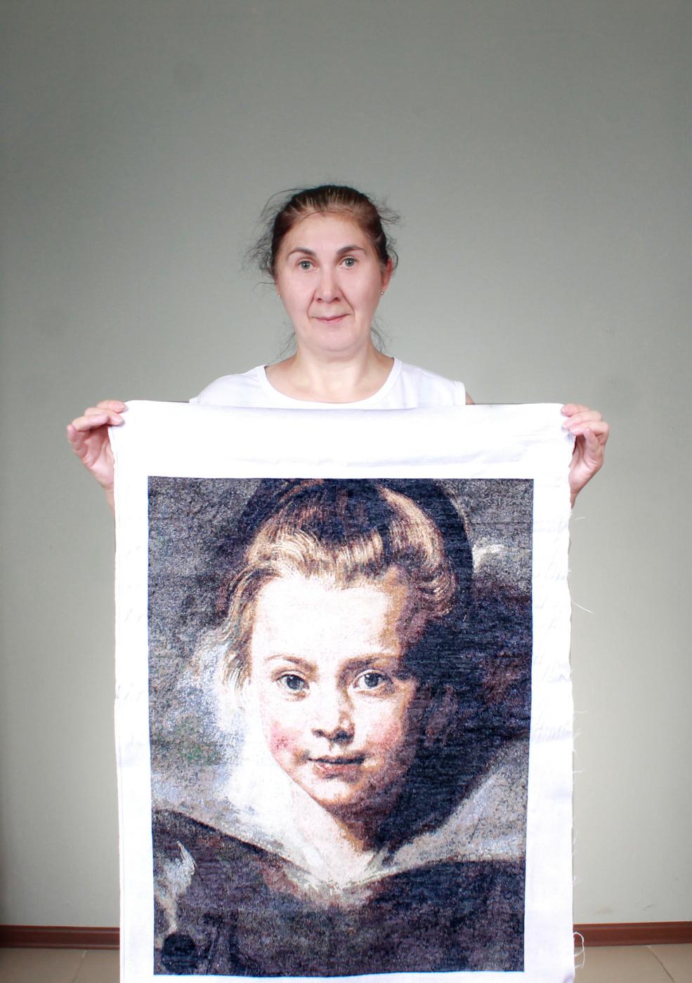 Peter Paul Rubens. Portrait of Clara Serena