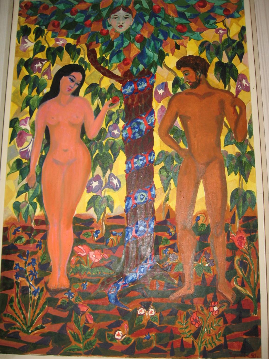 Valentina Alekseevna Chernova. Adam and Eve