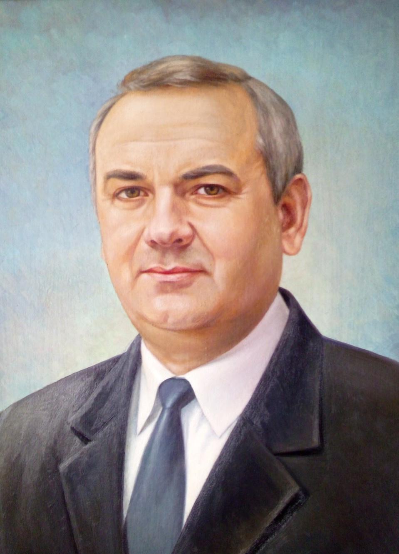 Ruslan Vasilievich Derevtsov. Portrait of a university professor. (2018)