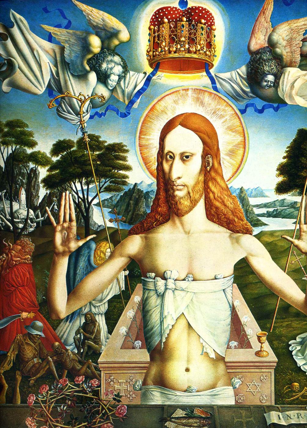 Ernst Fuchs. The Resurrection Of Christ