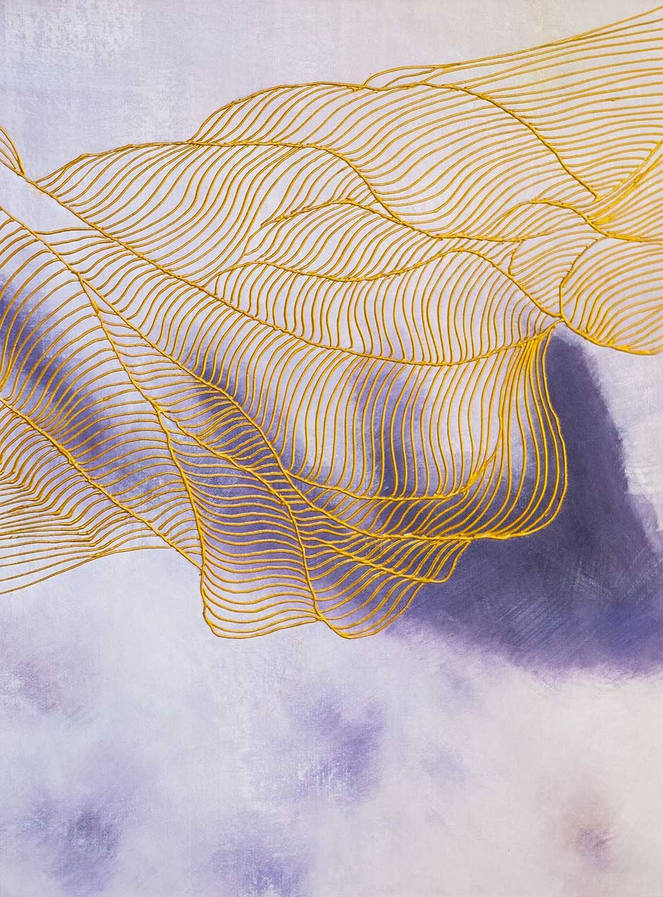 (no name). Golden threads of fate. Basic purple. N3