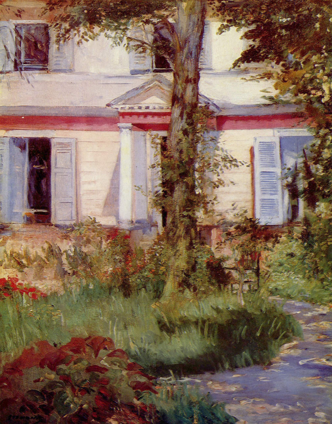 Edouard Manet. House in Rule