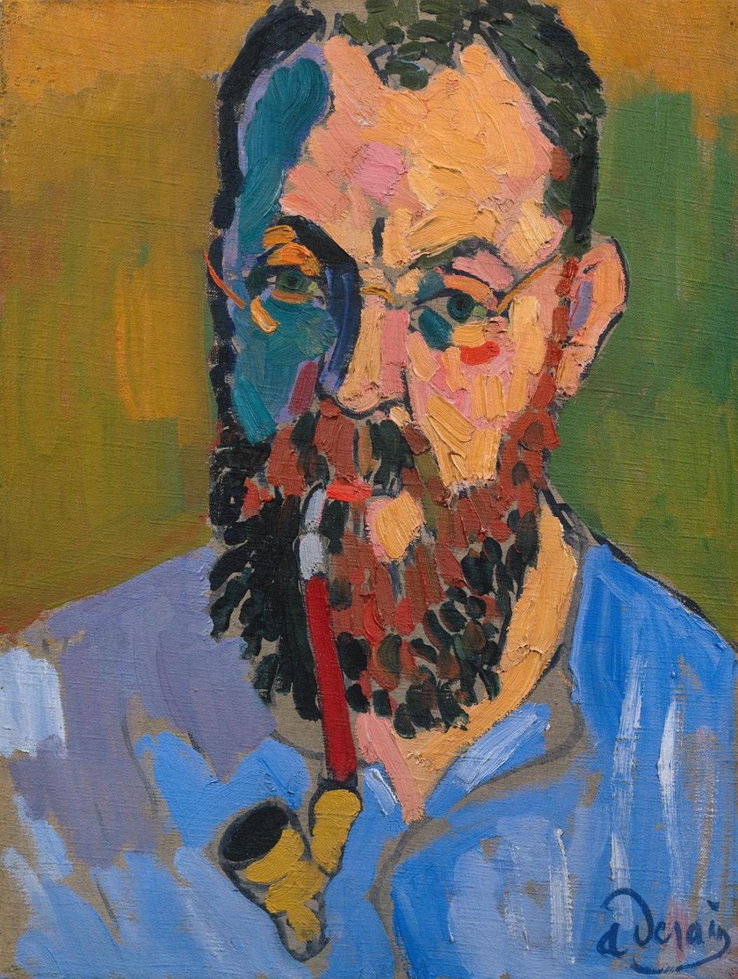 Andre Derain. A Portrait Of Matisse