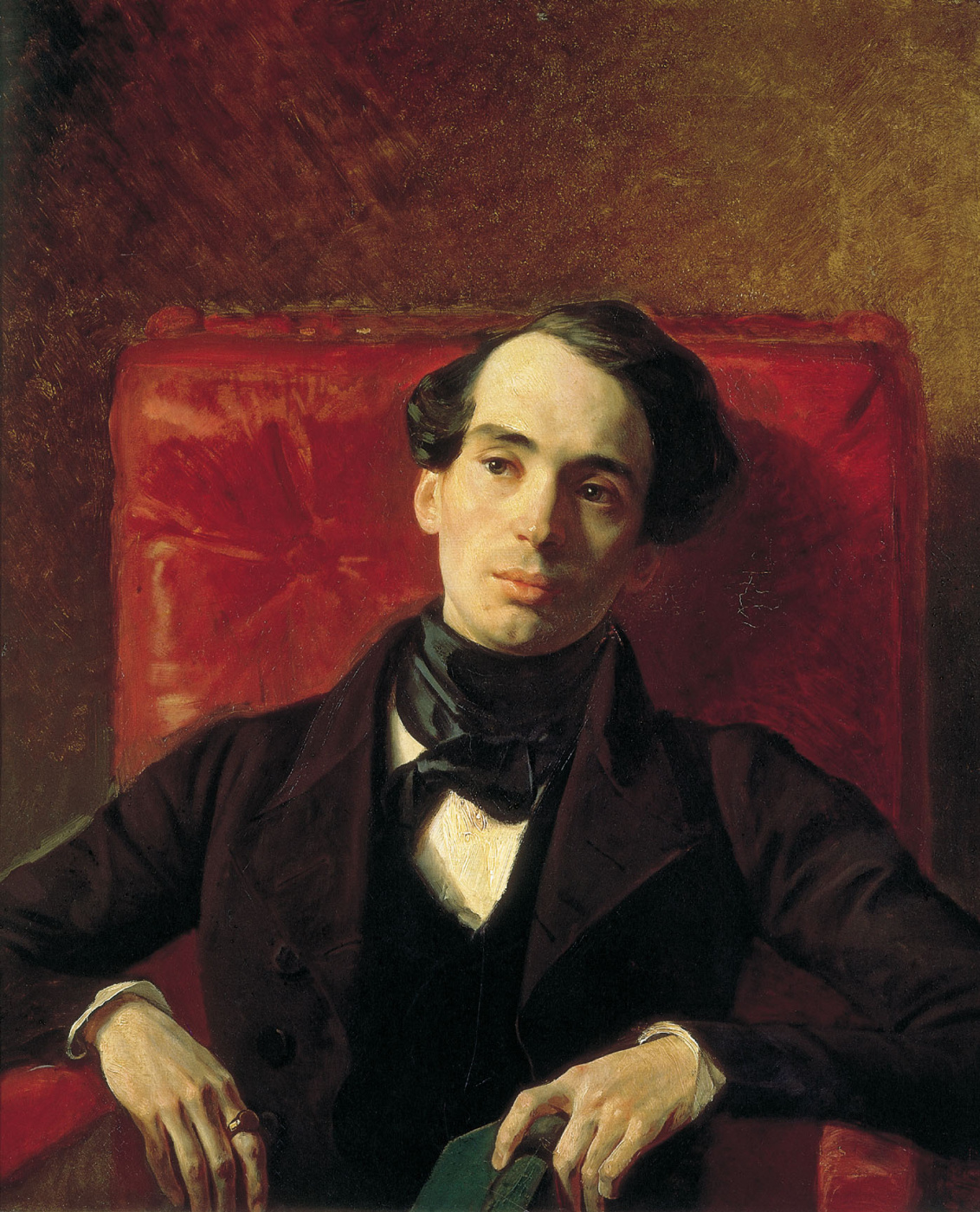 Karl Bryullov. Portrait of writer Alexander Nikolaevich Strugovshchikov