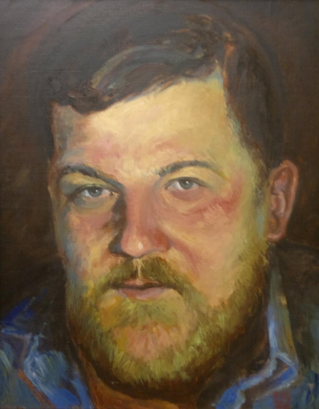Yuri Petrovich Konnov. Portrait of Dmitry's friend