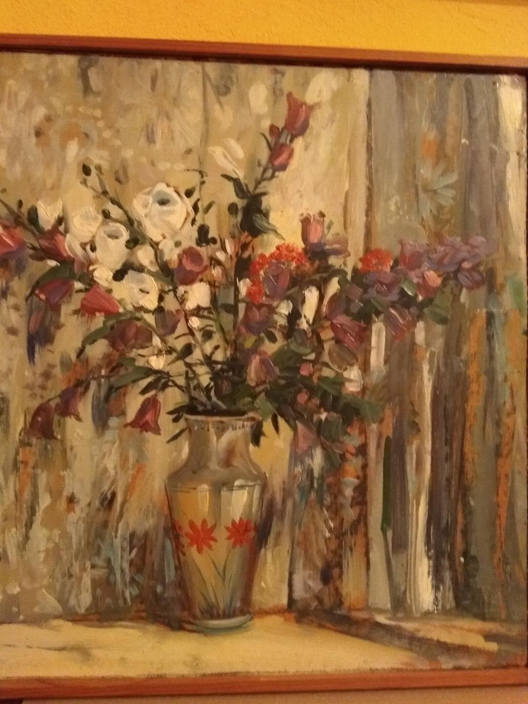 """Alexander Grigorievich Serdyukov. """"Bouquet"""""""