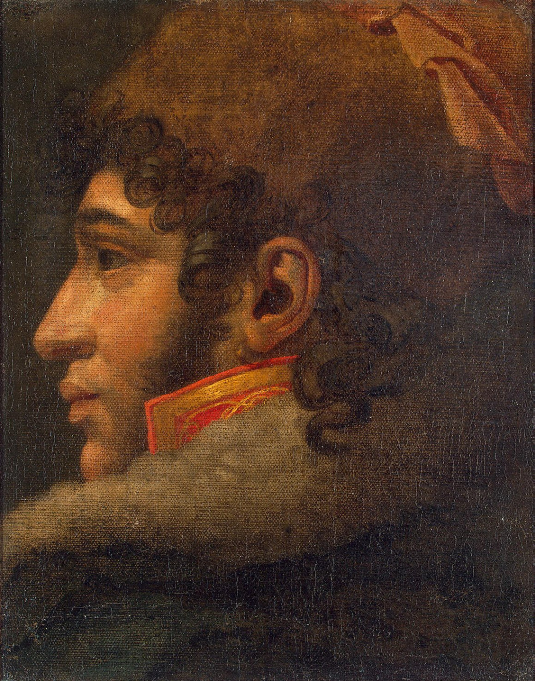 Anne-Louis Girode de Russi-Triosone. Portrait Of Murat