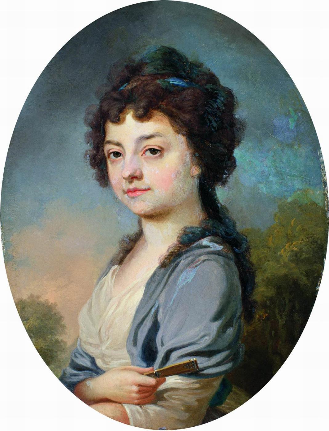 Vladimir Borovikovsky. Portrait of Nadezhda Ilyinichna Lvova