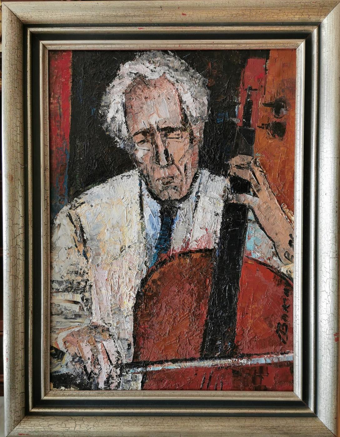 """Vadim Petrovich Sokolov. """"The violinist Dietrich Bachmann"""""""