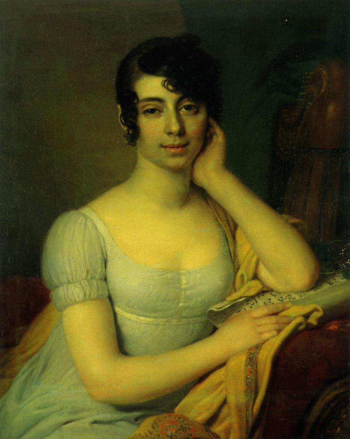 Vladimir Borovikovsky. Portrait of Princess K. I. Lobanova-Rostovskaya