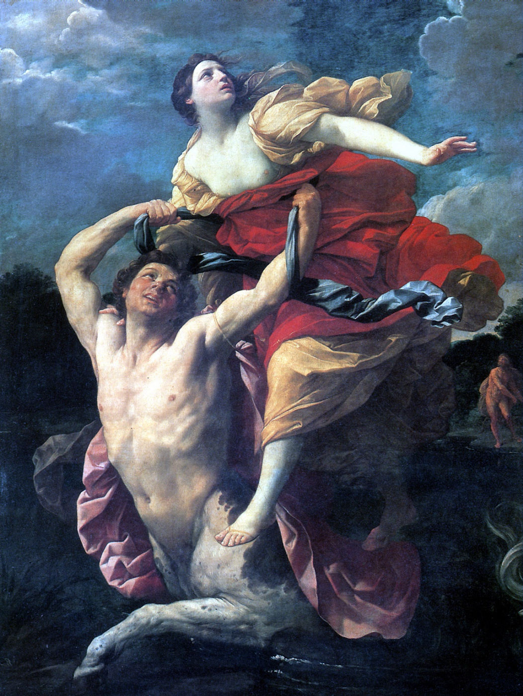 Guido Reni. Deianeira abducted by the centaur