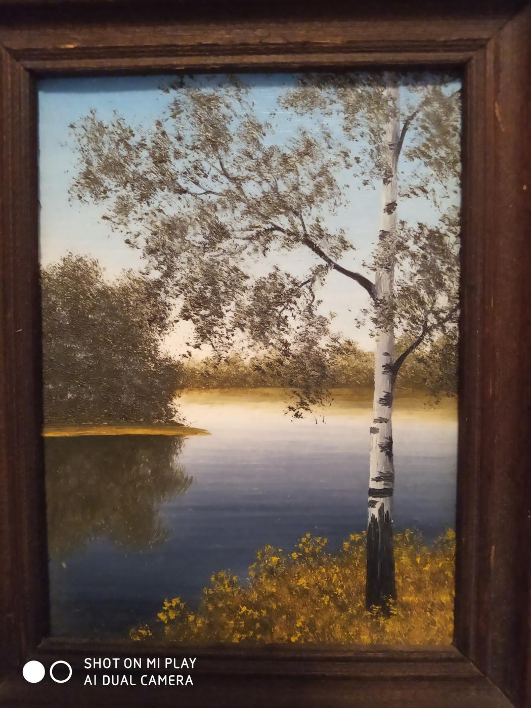 Alexander Adovich Vardi. Autumn landscape