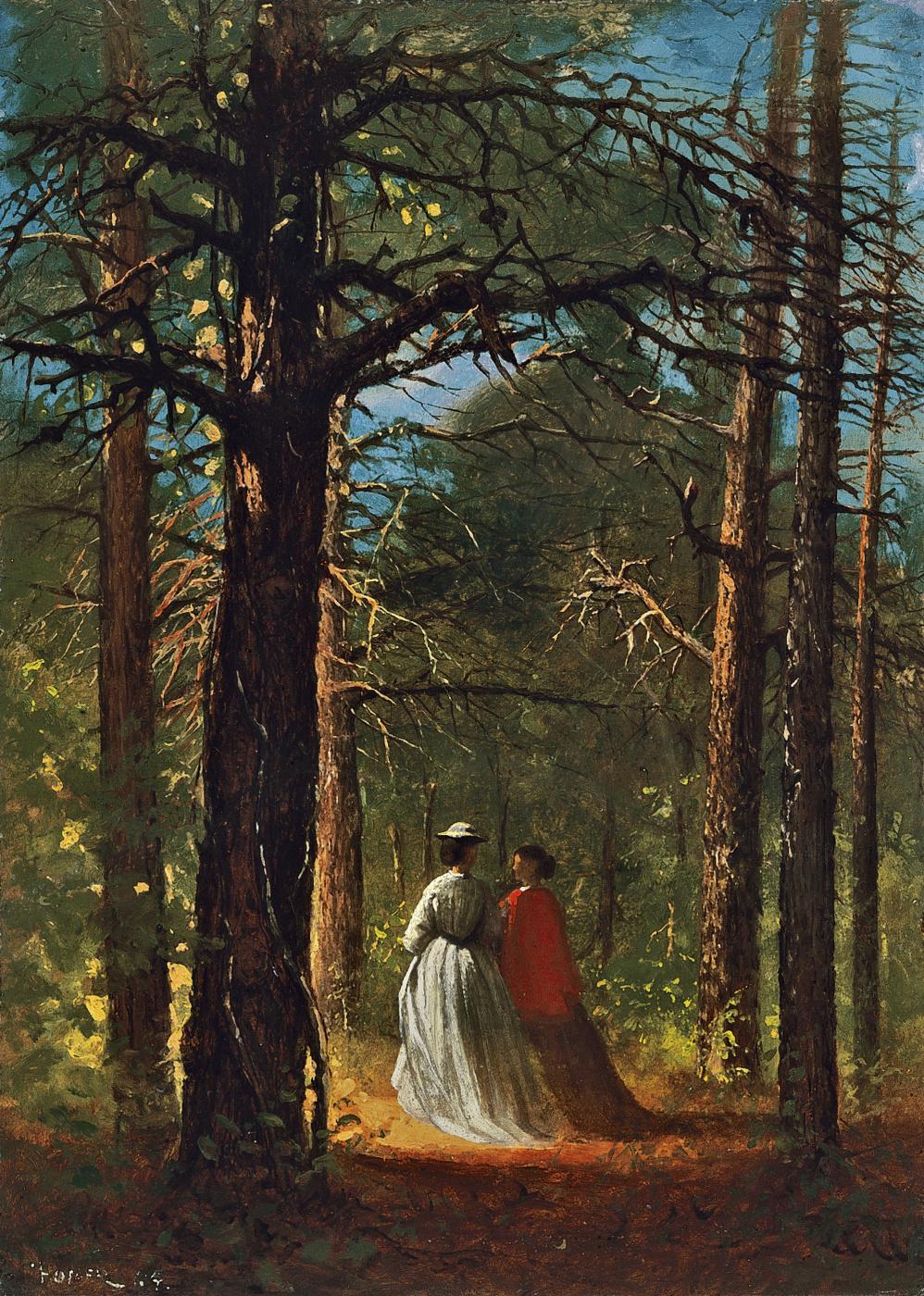 Winslow Homer. Oaks in Waverly, FL
