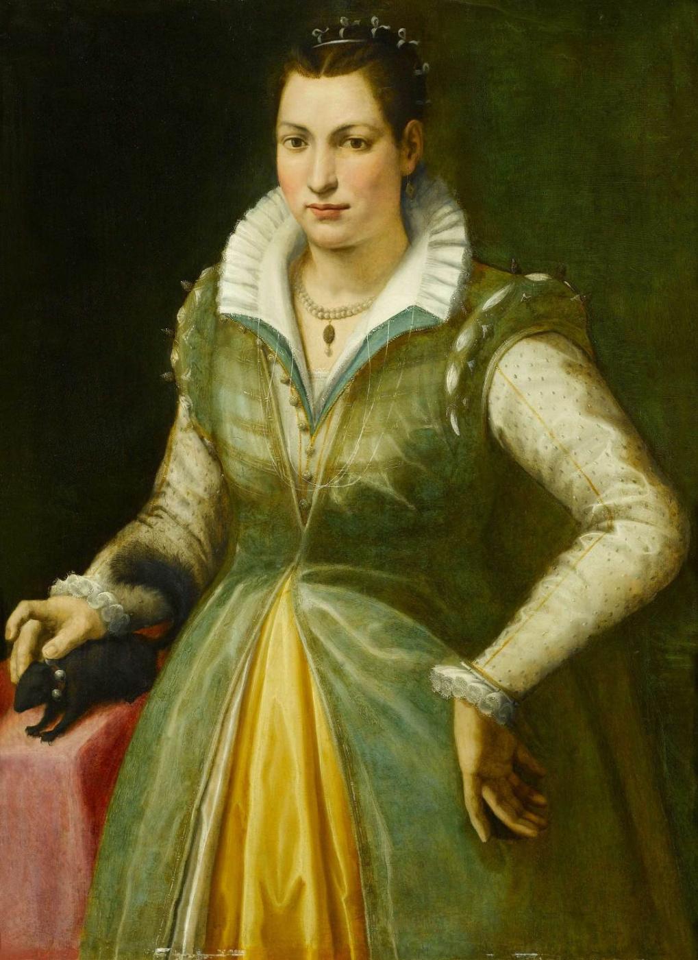 Bartolomeo Traballesi. Portrait of a lady