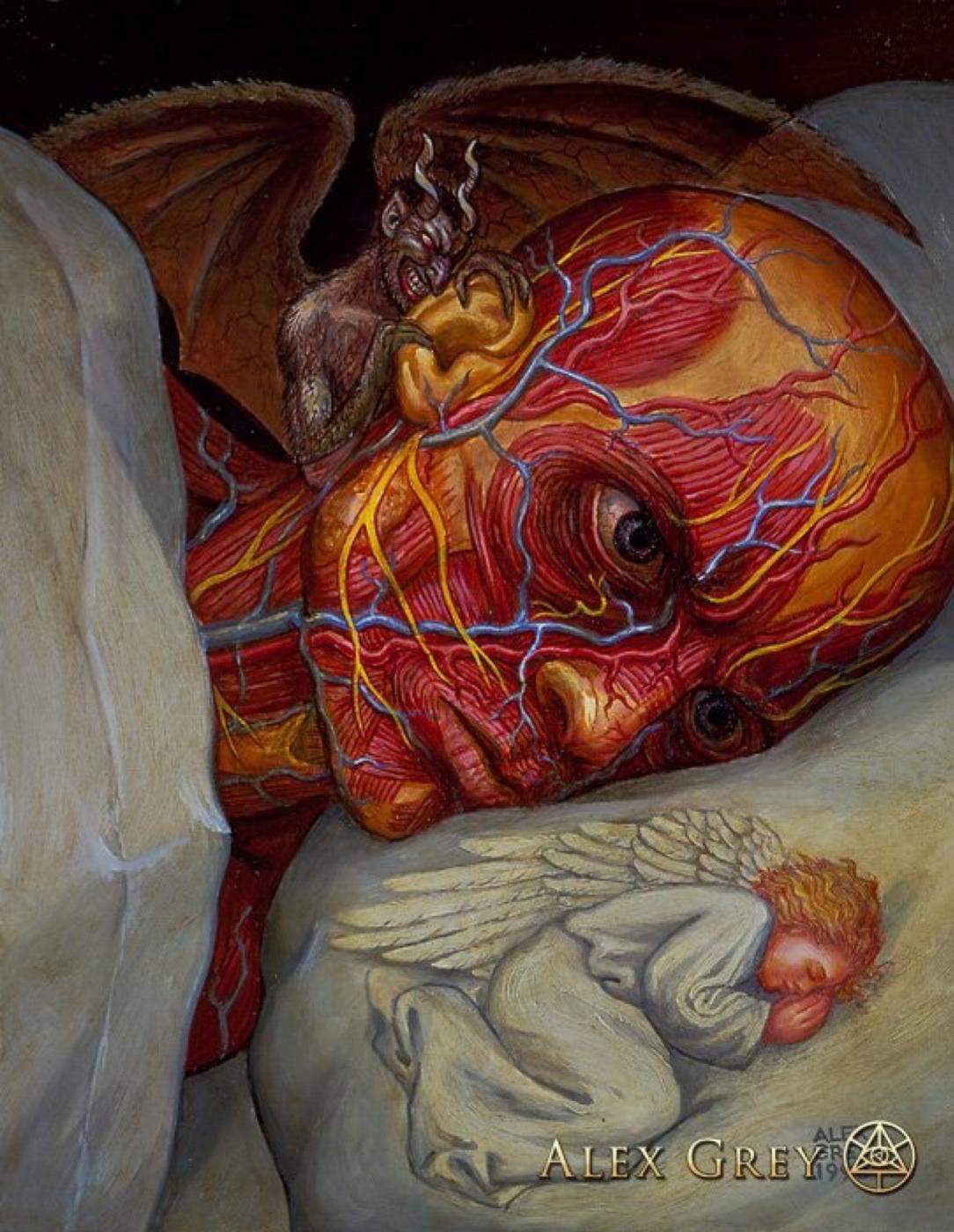 Alex Gray. Insomnia