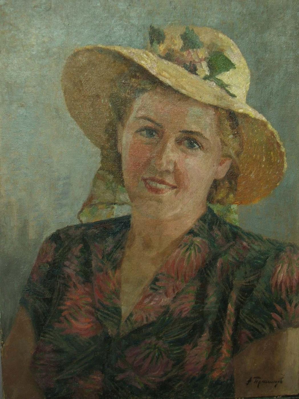 Gerasimov. Portrait of a Woman