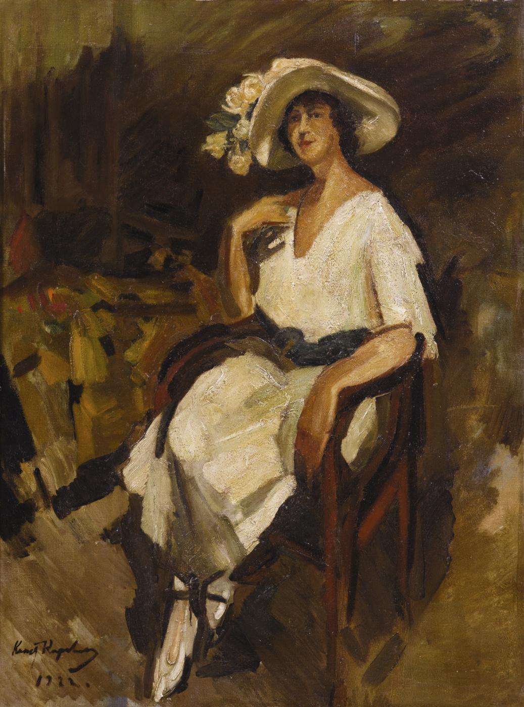 Konstantin Korovin. Portrait of maria