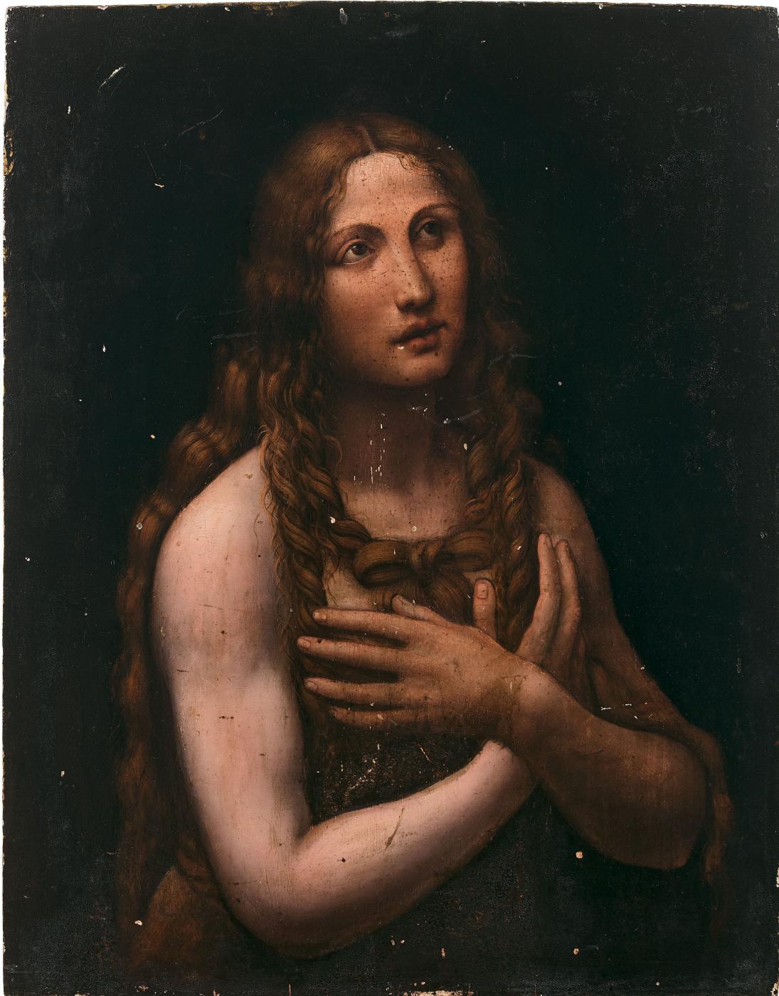 Jan Giacomo Caprotti da Oreno (Salaí). The Penitent Magdalene