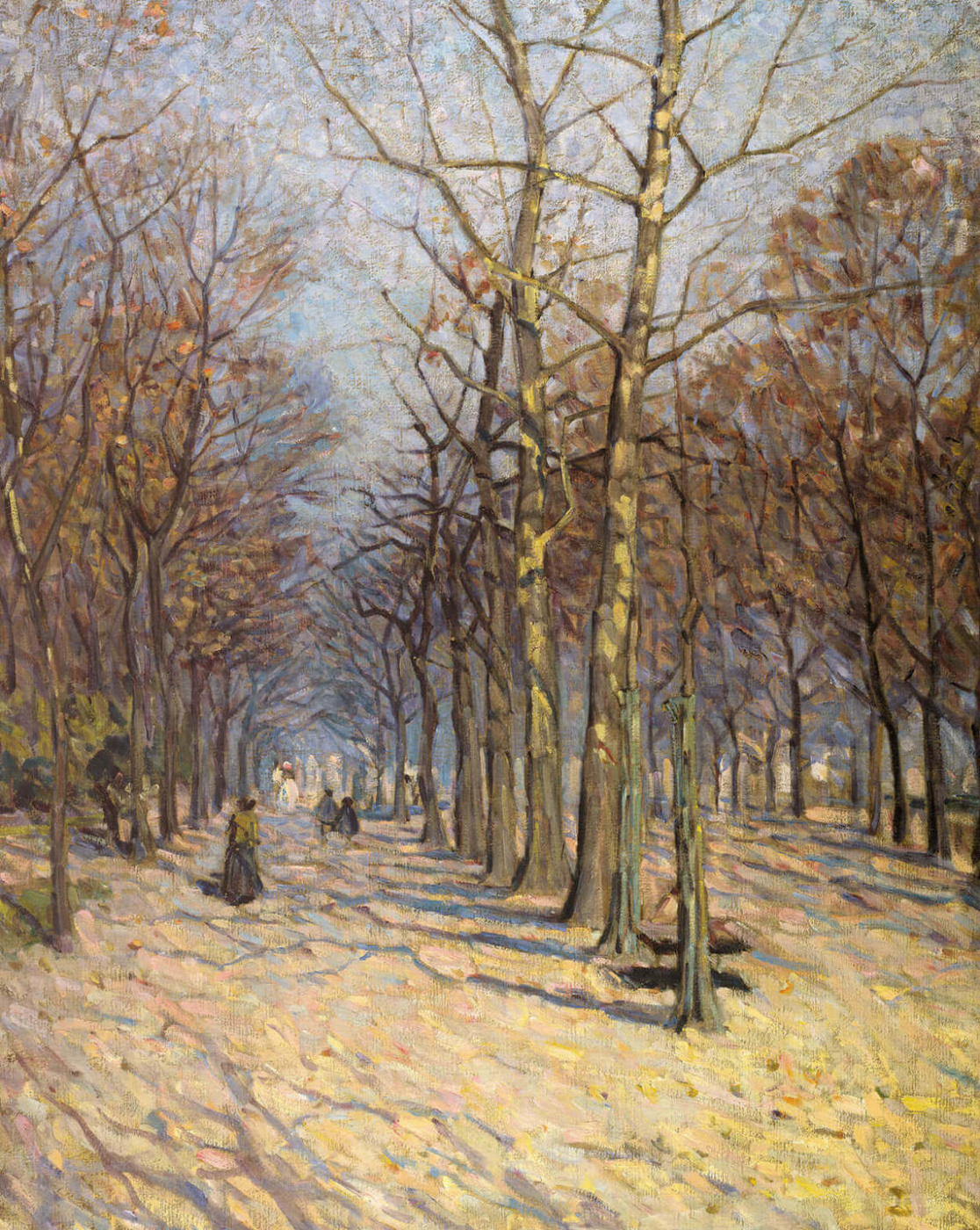Helen Galloway McNicoll. Winter Avenue