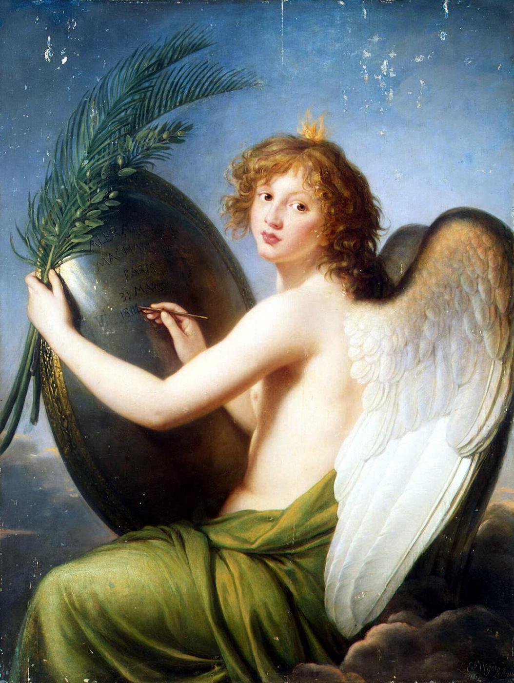 Elizabeth Vigee Le Brun. The Genius Of Alexander I