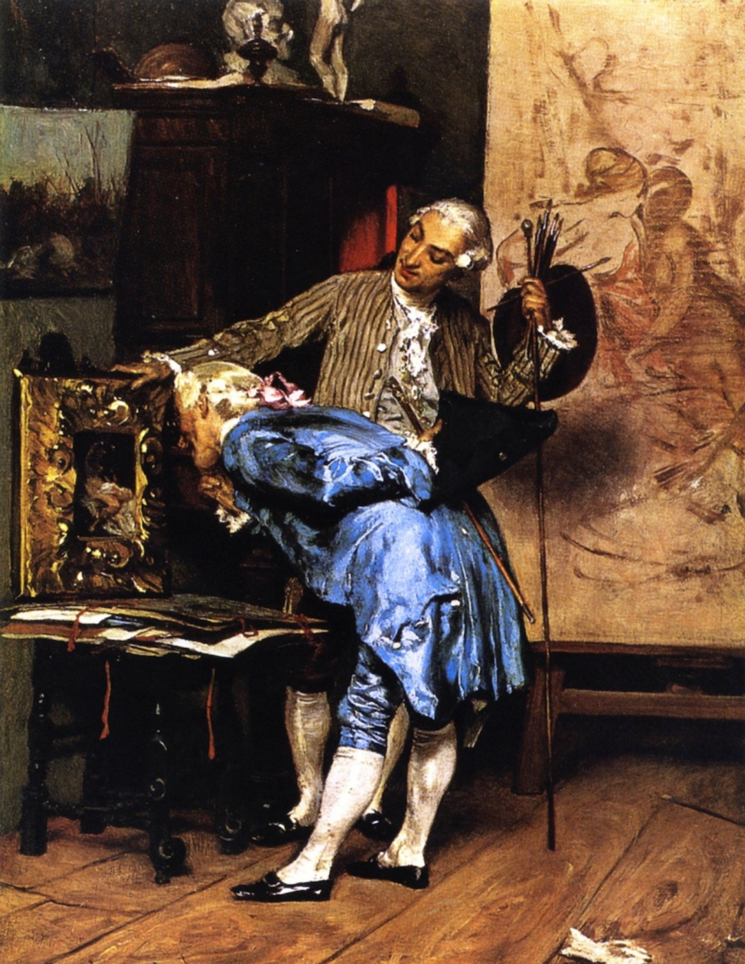 Giovanni Boldini. Art lover