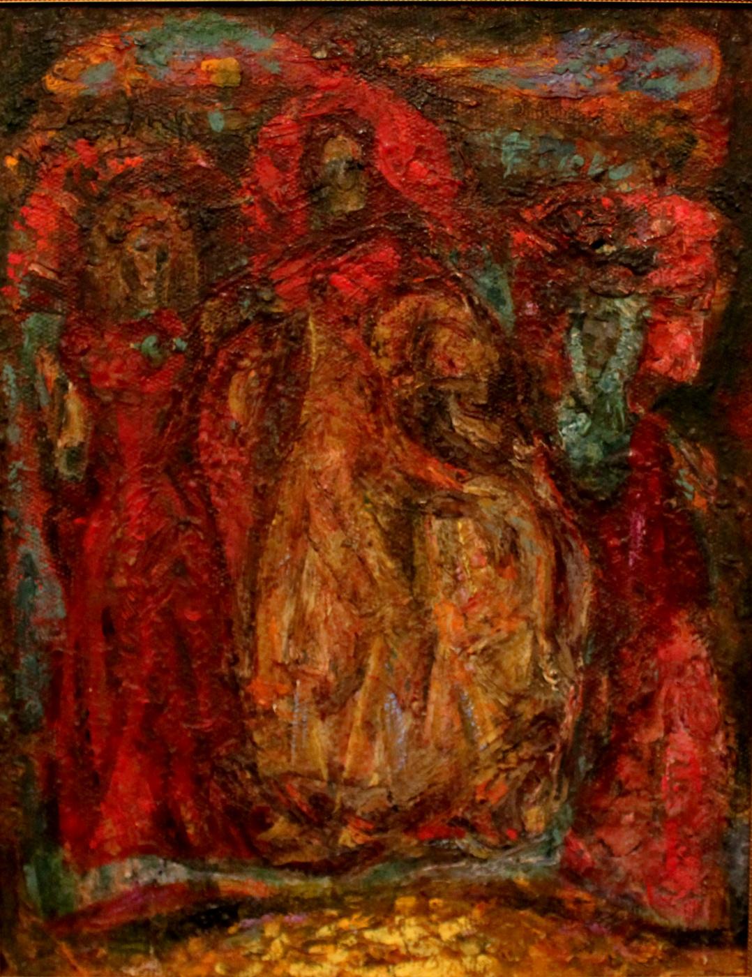 Victor Fedorovich Chudin. Three figures