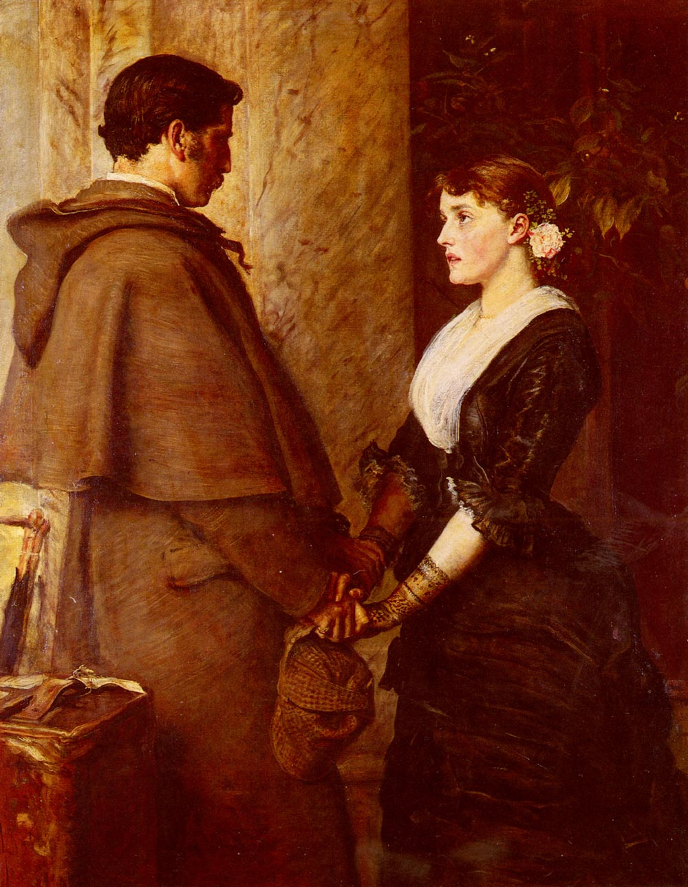 "John Everett Millais. Say ""Yes!"""