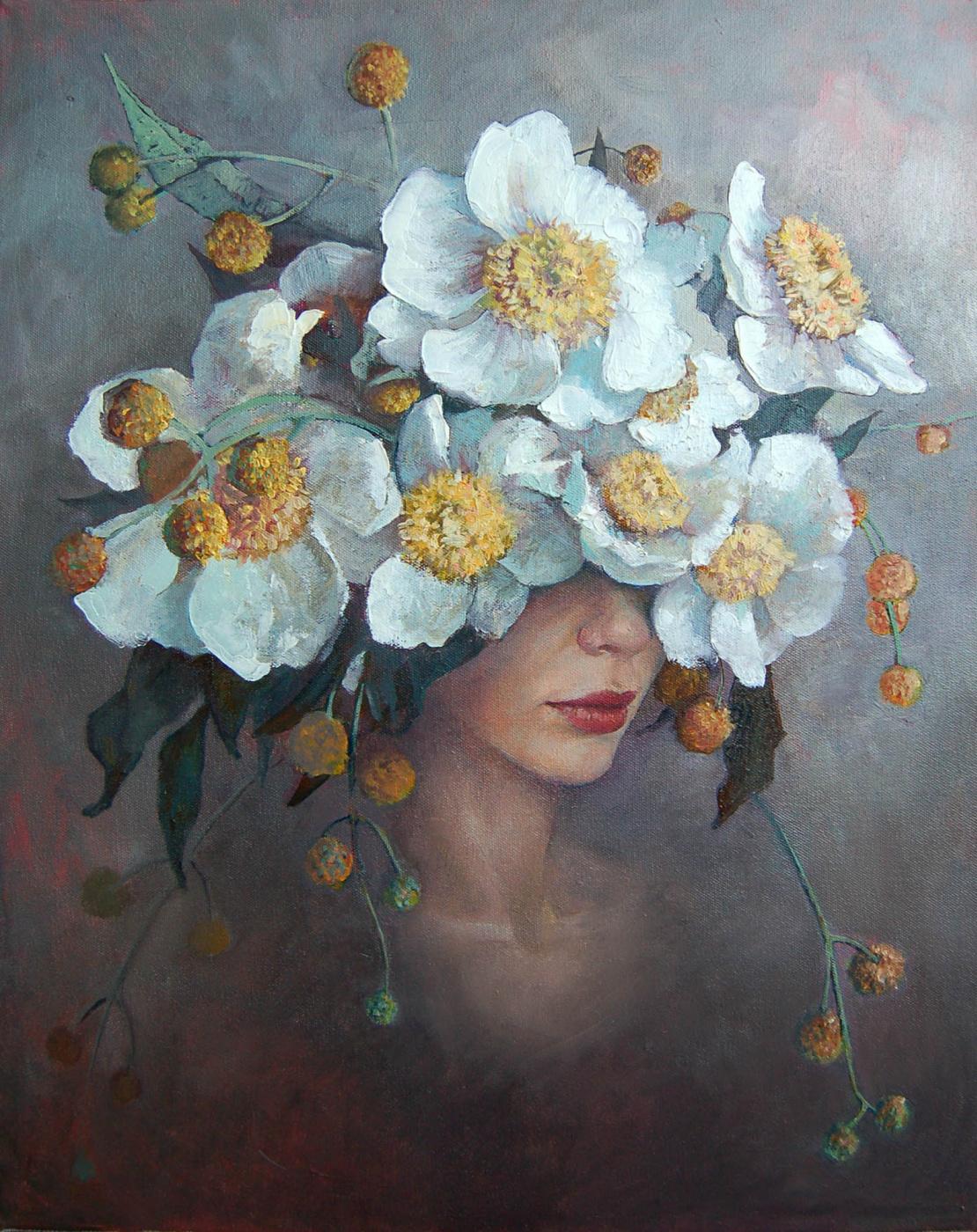 Christina Equal. White Peonies