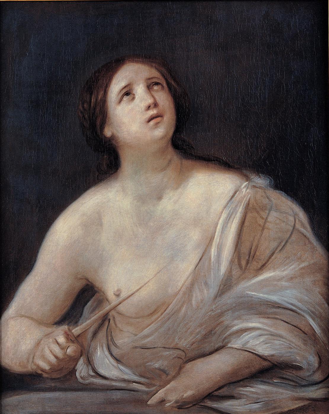 Guido Reni. The Death Of Lucretia
