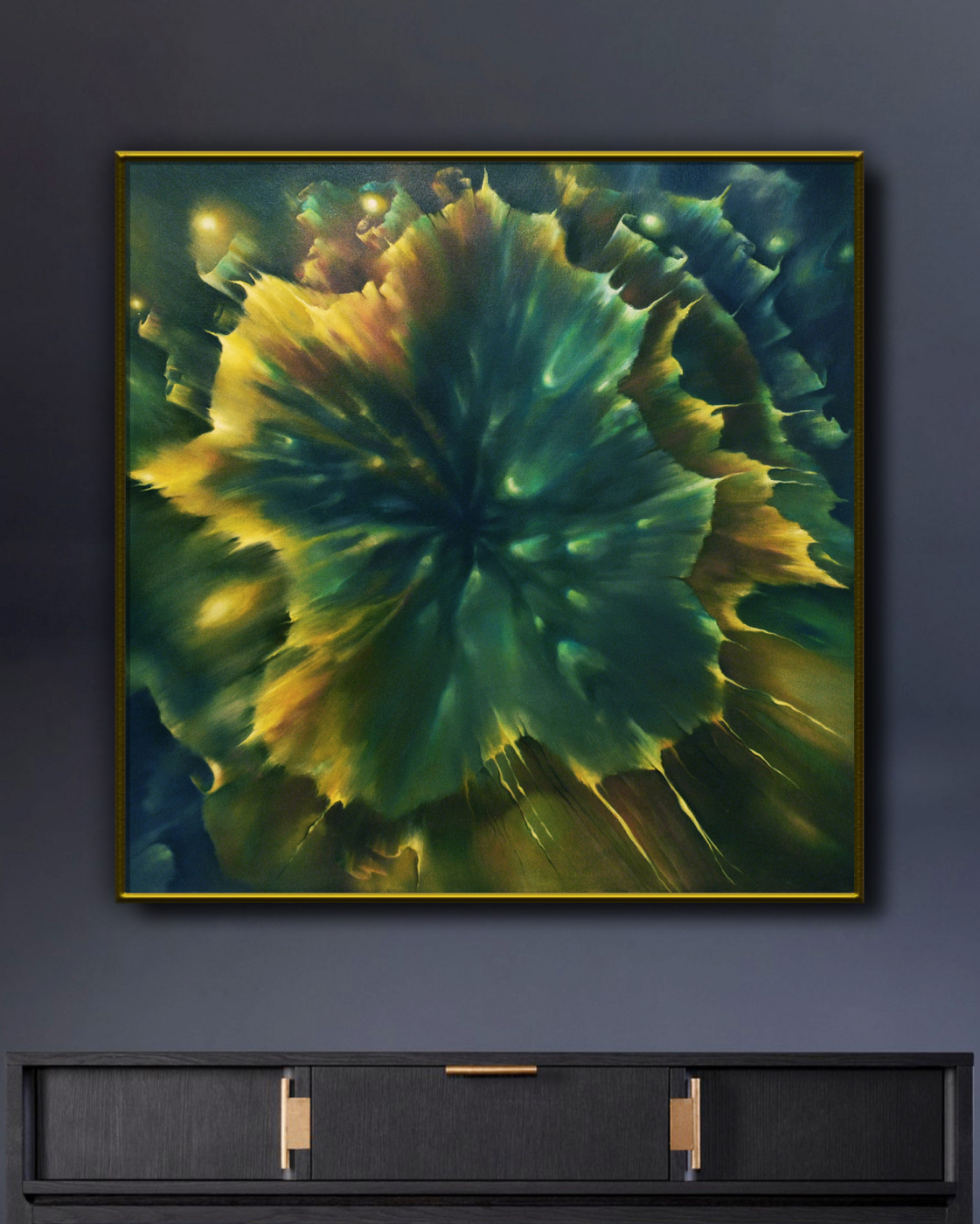 THE ABYSS - original oil painting