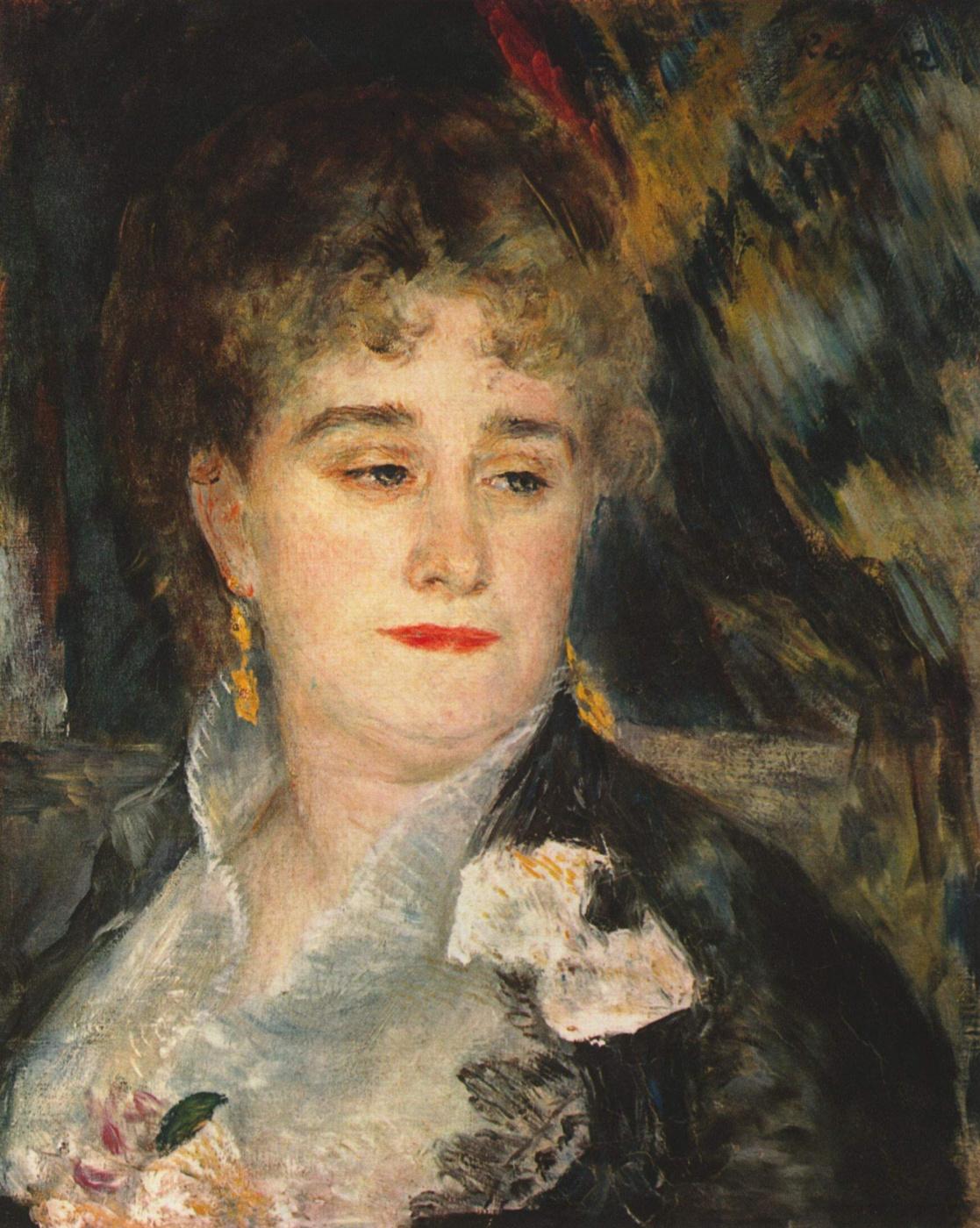 Pierre-Auguste Renoir. Portrait of Madame Charpentier