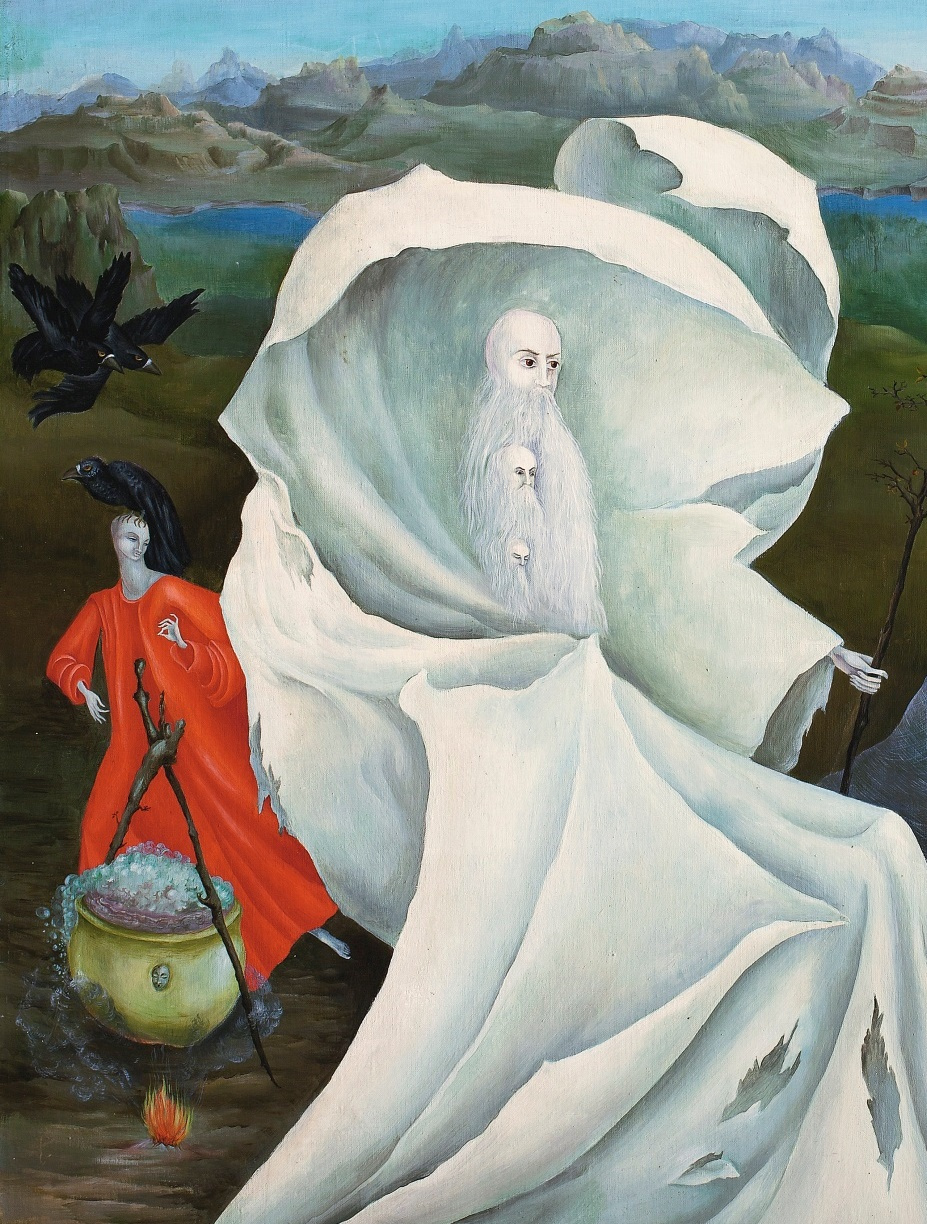 Leonora Carrington. The Temptation Of St. Anthony. Fragment