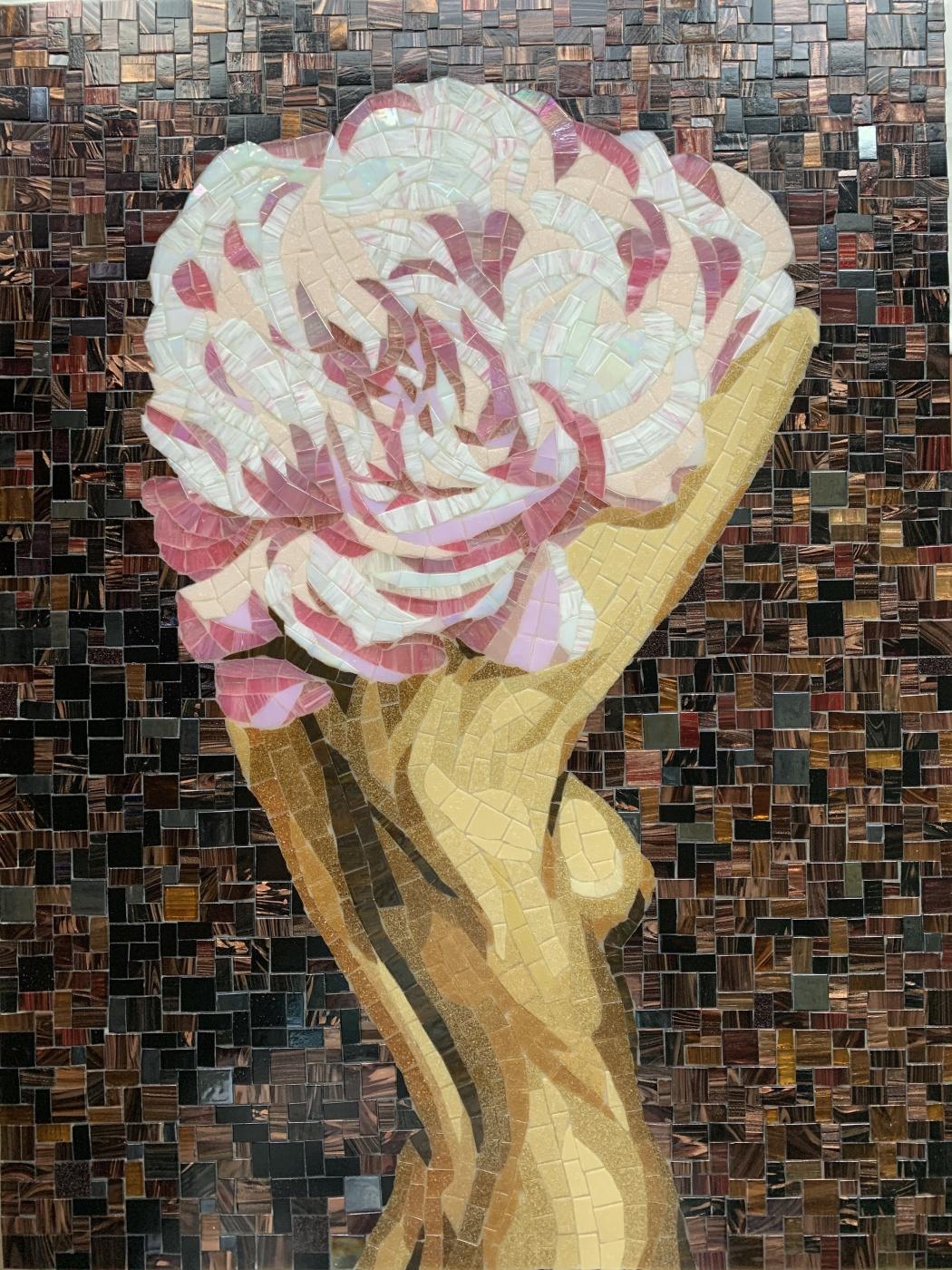 Olesya Vyacheslavovna Pisarenko. Diva Rose. Based on the painting by Amy Jadd