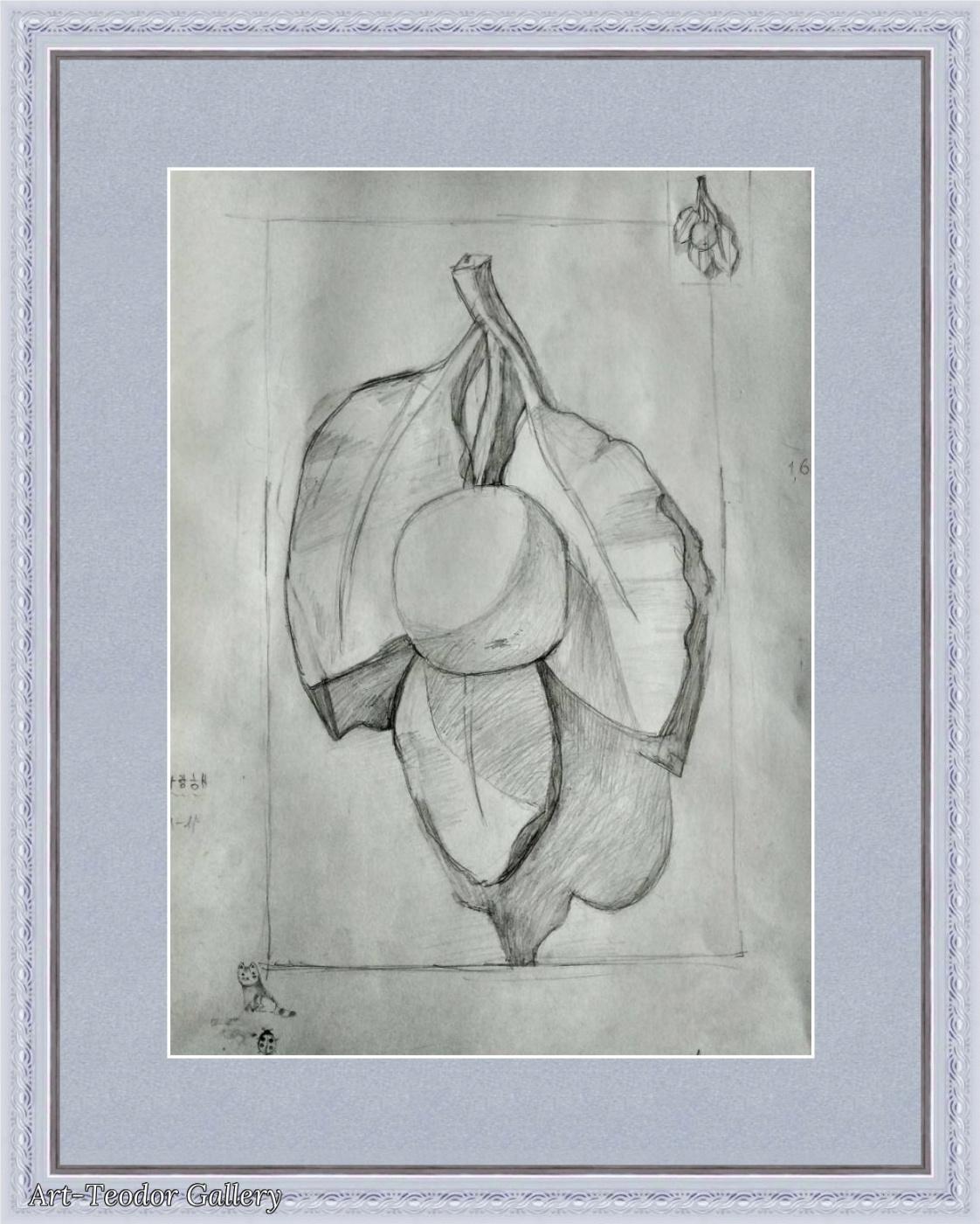 Art-Teodor Gallery. Figure Rosette Apple Tree