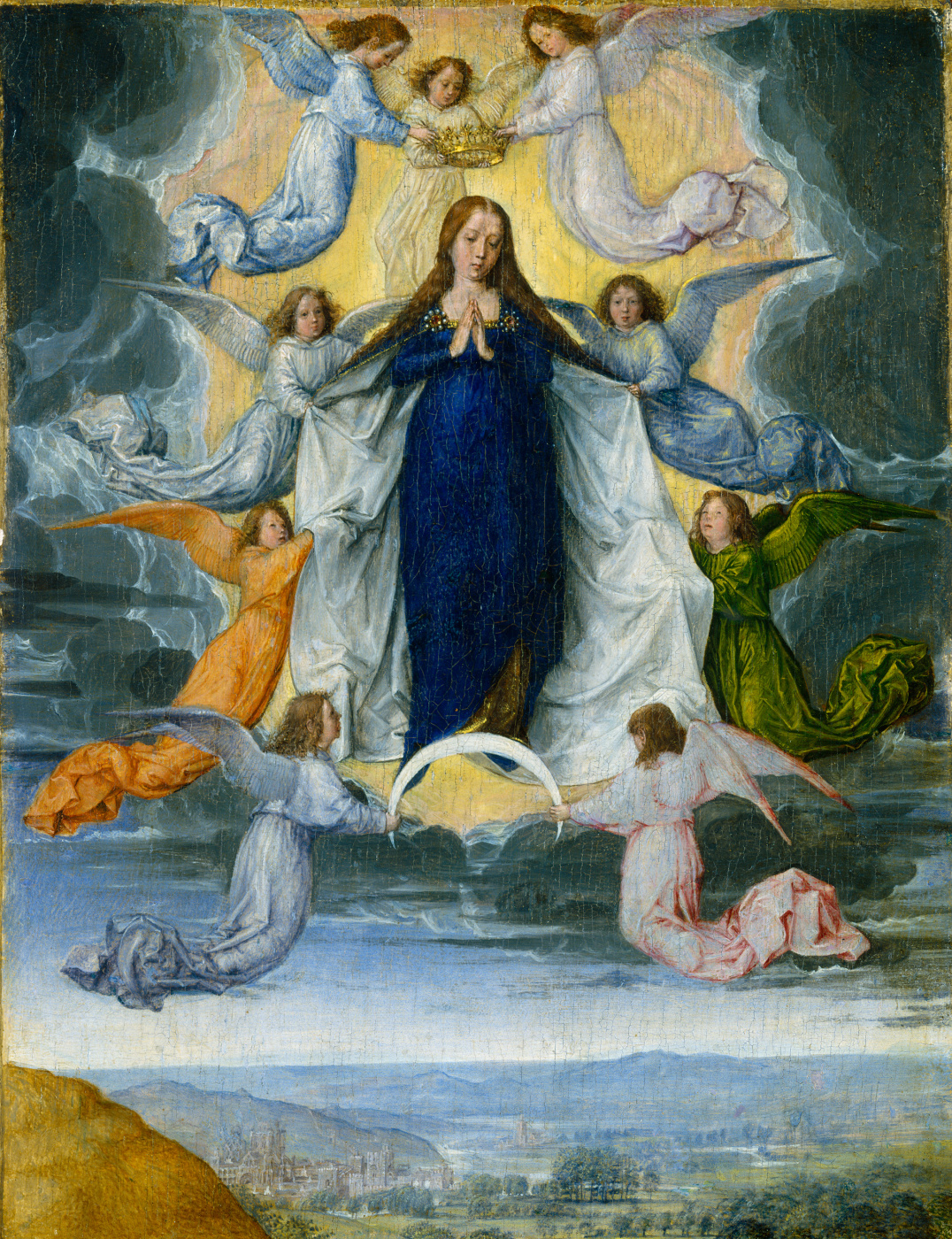 Michel Sittow. The Assumption of the Virgin
