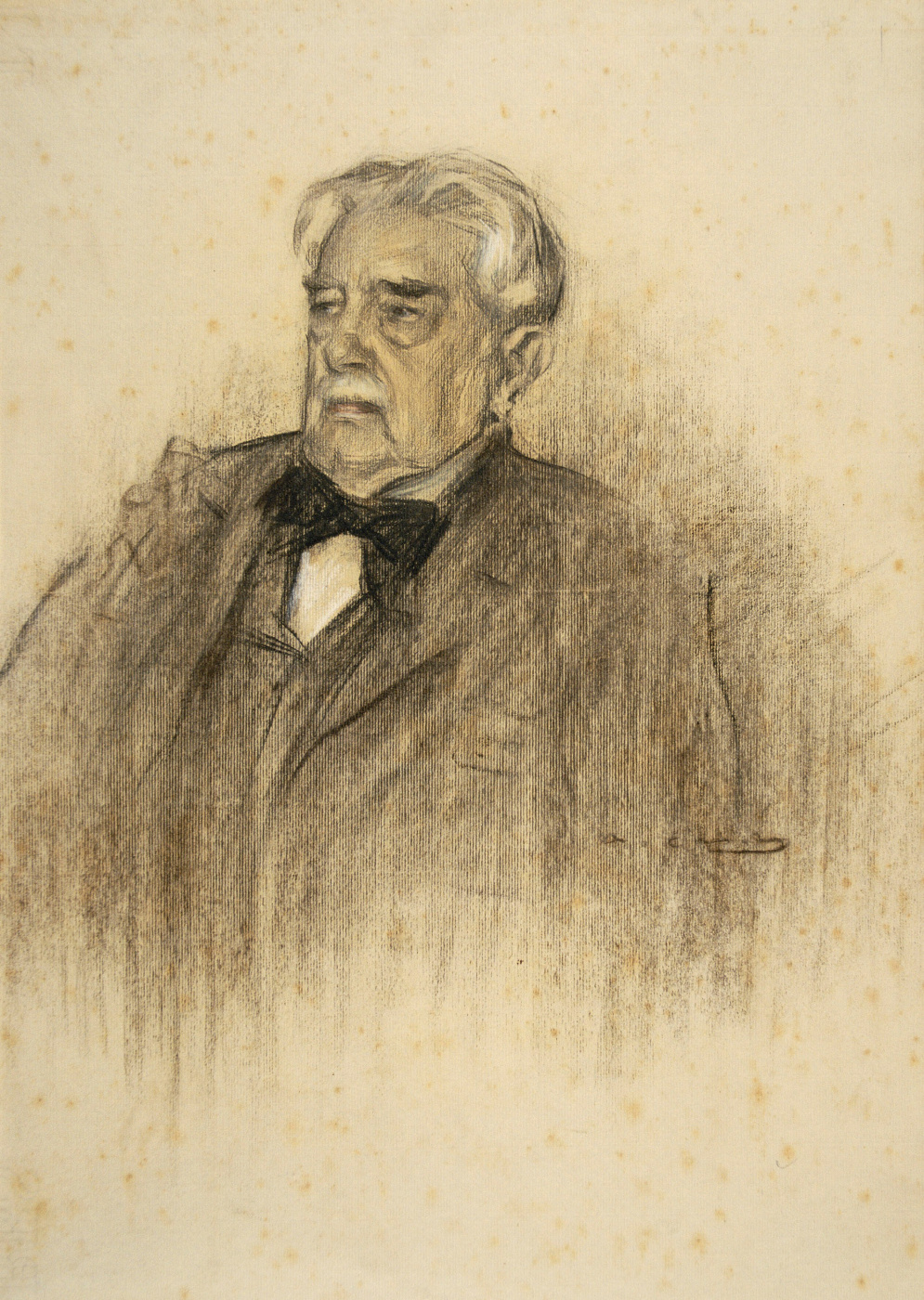 Ramon Casas i Carbó. Portrait of Juan Valera