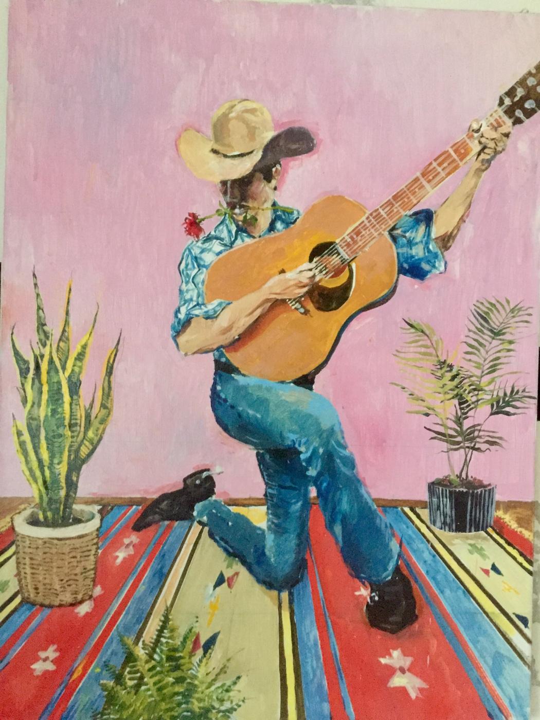 Ostap Bakin. Cowboy