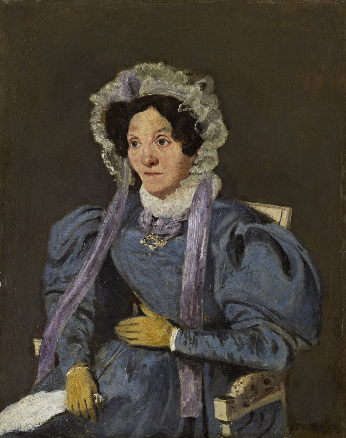 Camille Corot. Artist's Mother (Marie Francoise Oberson)