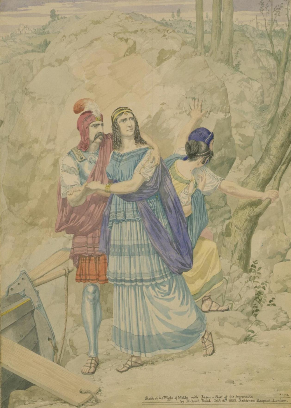 Ричард Дадд. Jason and Medea