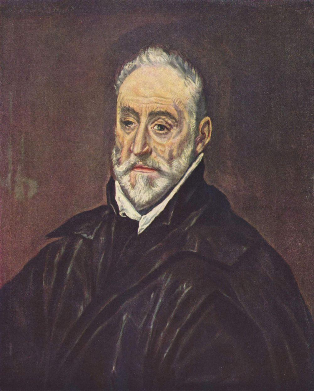 Domenico Theotokopoulos (El Greco). Antonio de Covarrubias