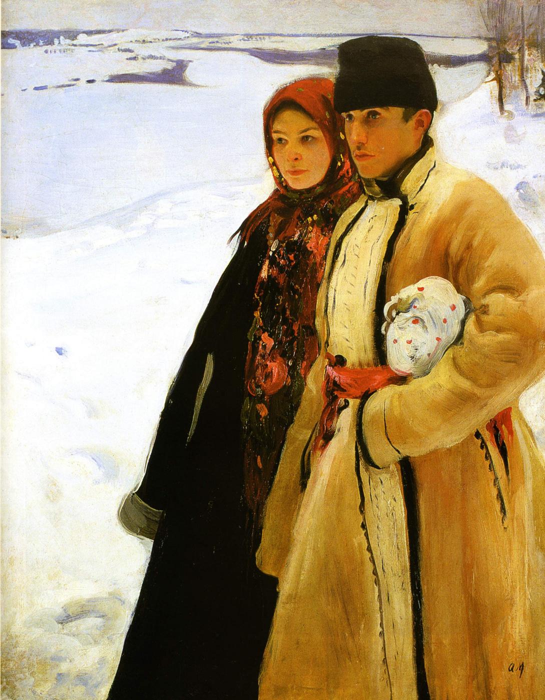 Alexander Murashko. Winter