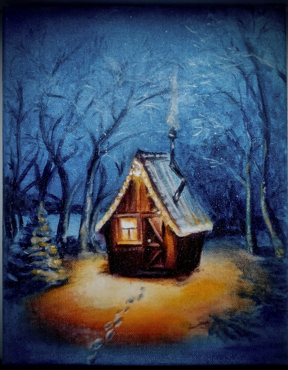 Tatiana Borisovna Gritsova. Small house