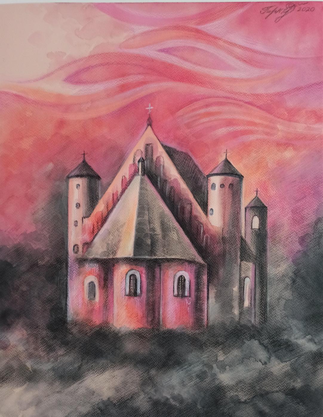 Irina Gubarevich. Church of the Archangel Michael