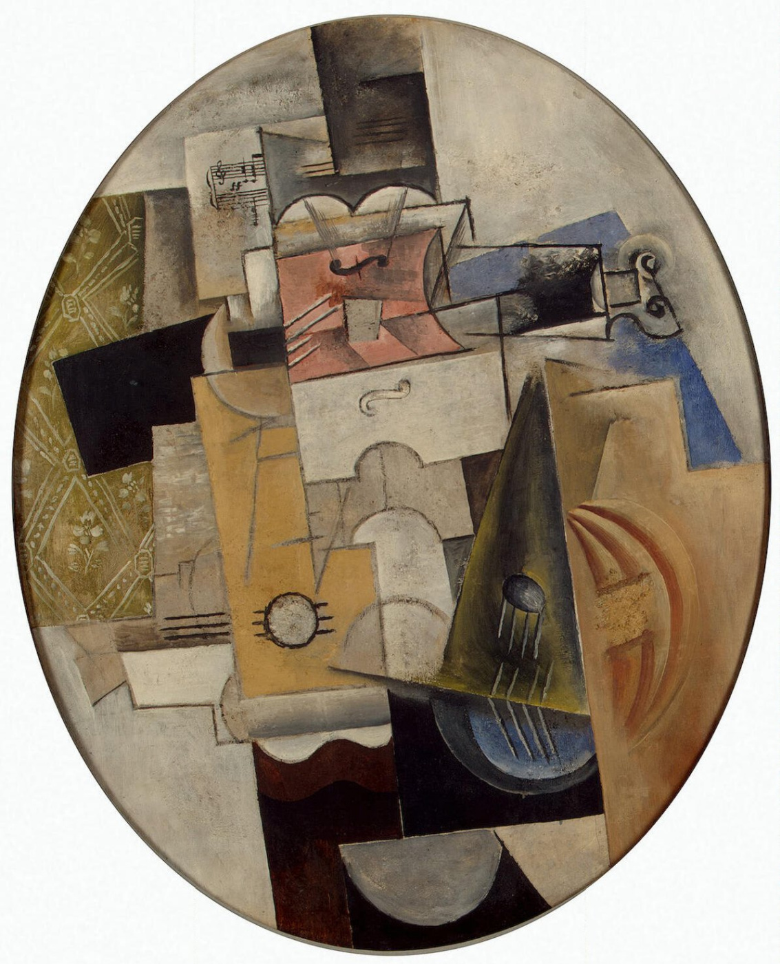 Pablo Picasso. Musical instruments