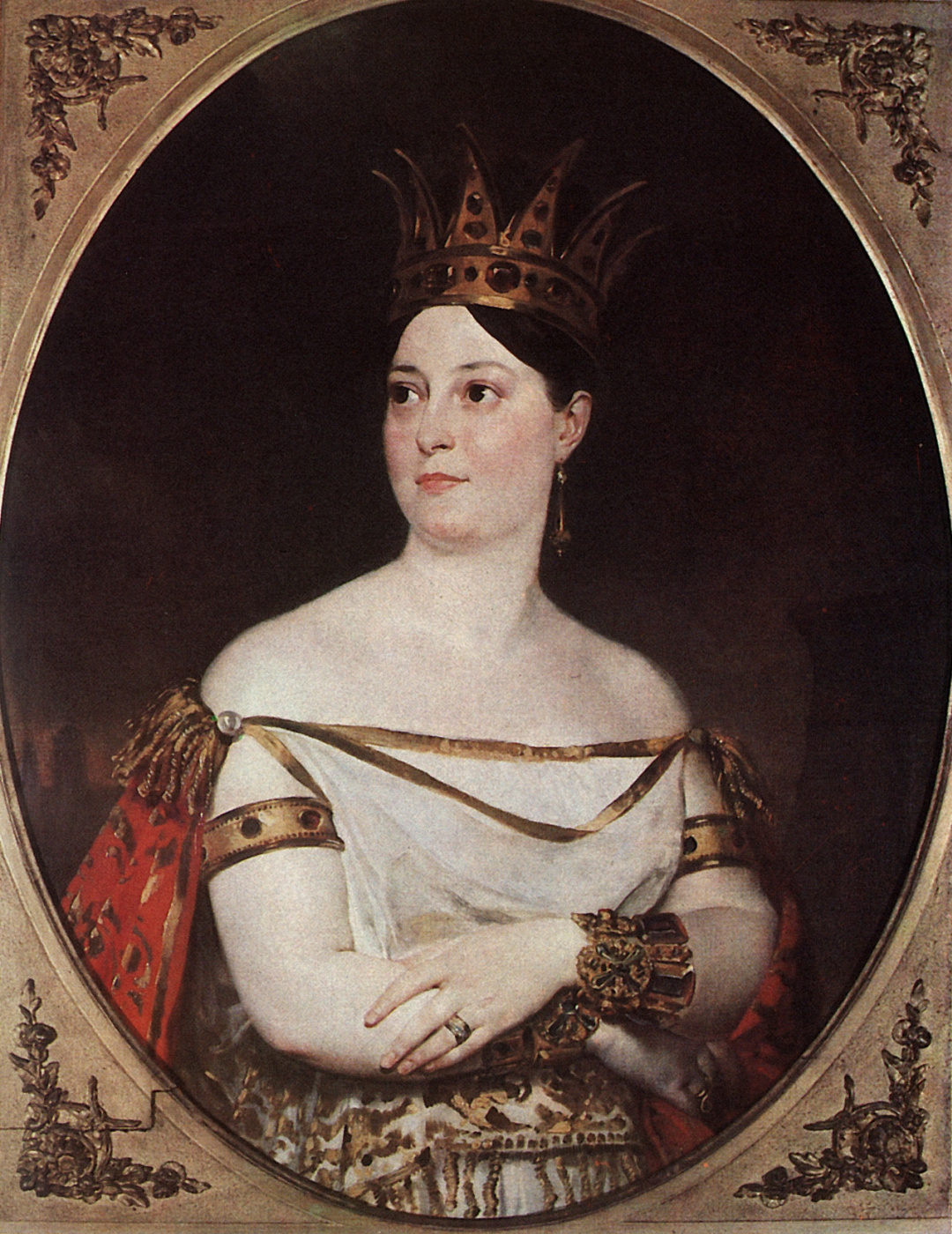 Karl Bryullov. Portrait of Giuseppina, Ronzi de Begnis