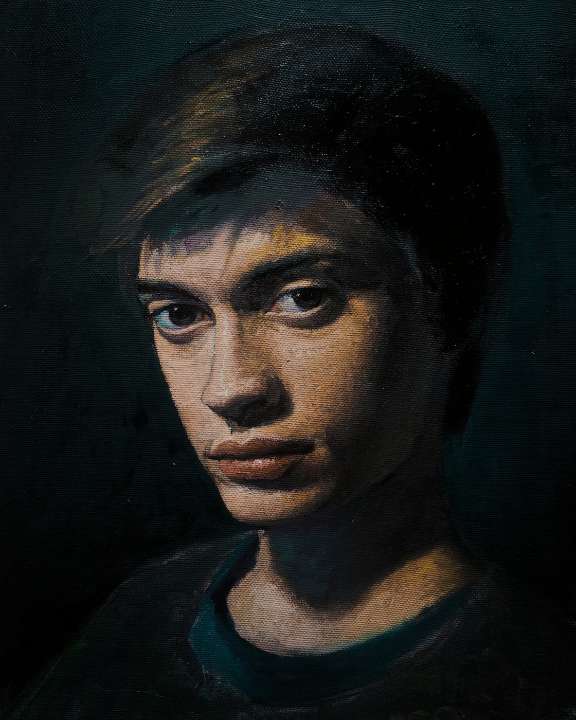Daniil Andreevich Vlasenko. Portrait of brother