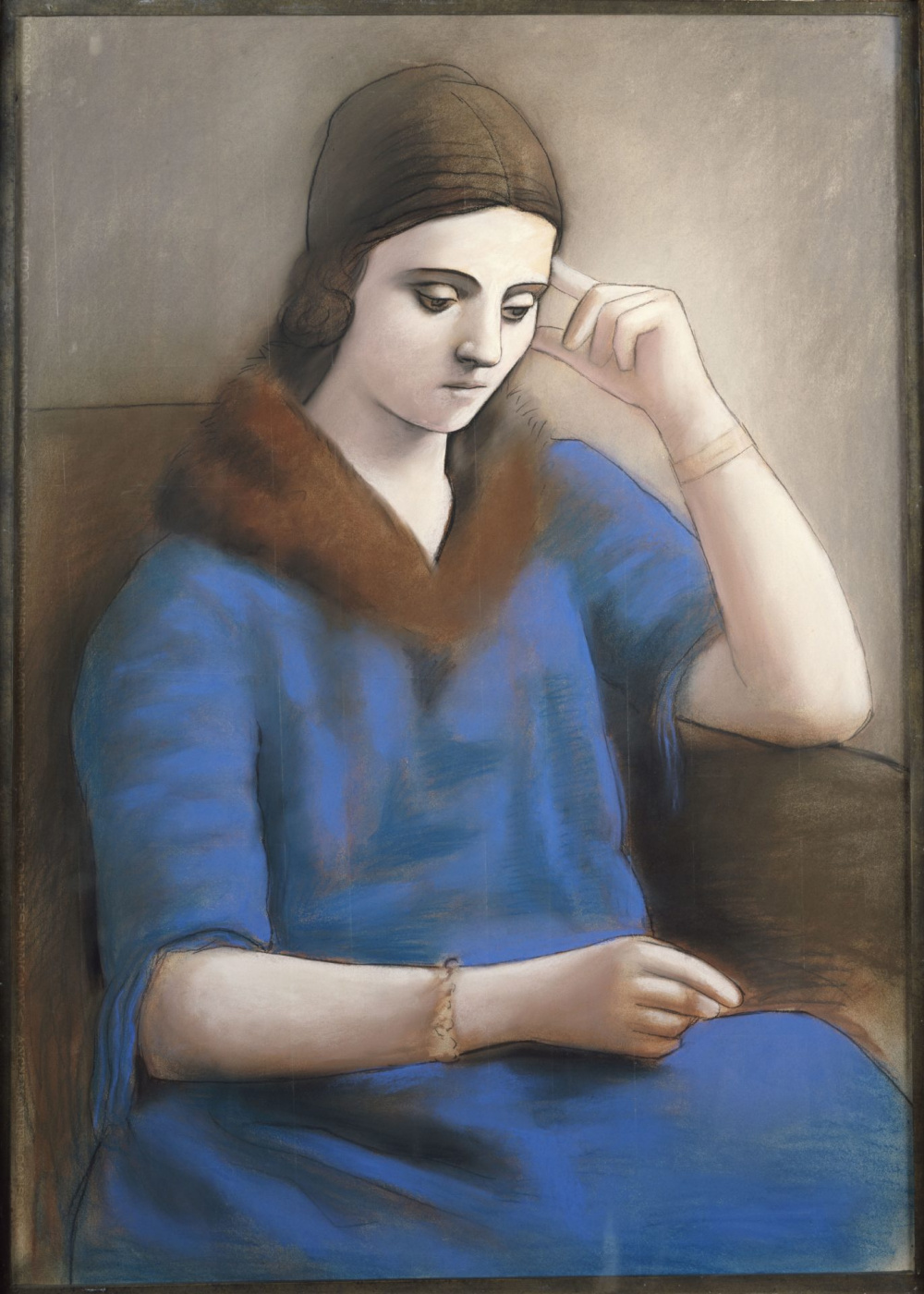 Pablo Picasso. Olga lost in thought
