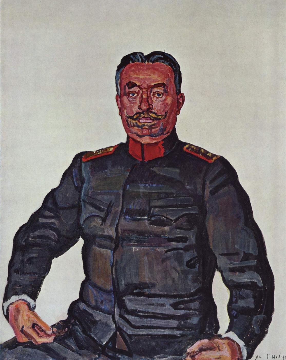 Ferdinand Hodler. Portrait of General Ulrich Villa
